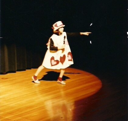 Alice in Wonderland, The Knave, sugar tarts, Beachwood Community Theater, Jamie Allison Sanders, acting, costume