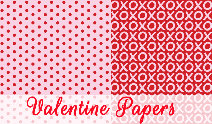 Freebie Valentine Papers