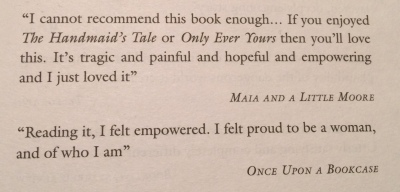 Quote in Naondel by Maria Turtschaninoff Hardback