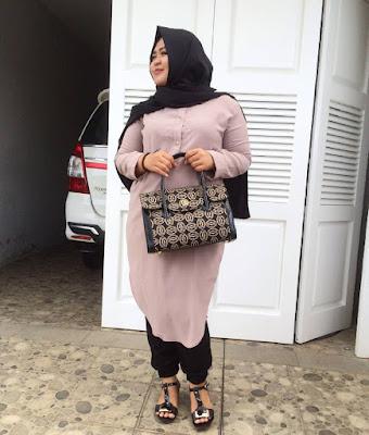 Model Baju Muslim Untuk Orang Gemuk Hangout