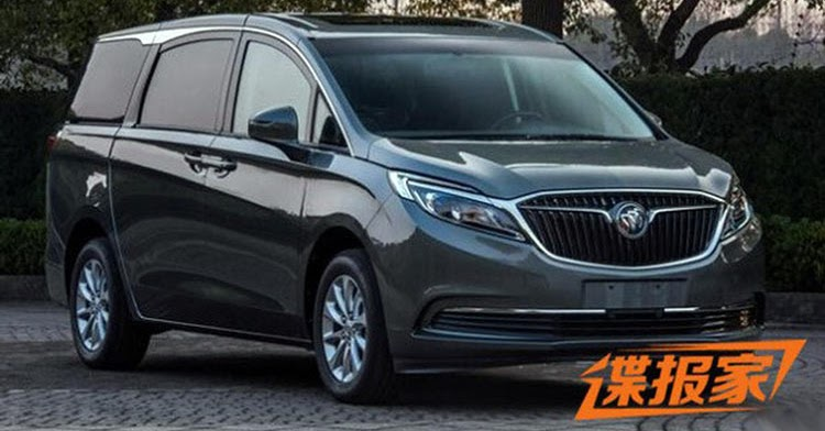This New Buick GL8 Minivan Is For China Only