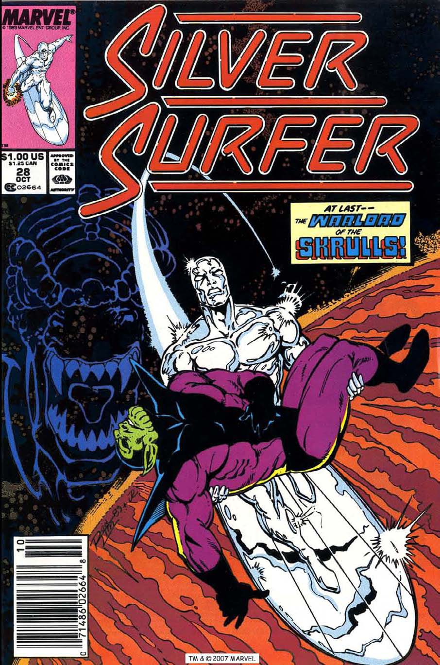 Read online Silver Surfer (1987) comic -  Issue #28 - 1