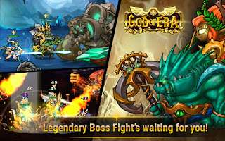 GOD OF ERA : HEROES WAR v1.1 Mod Apk (Money)