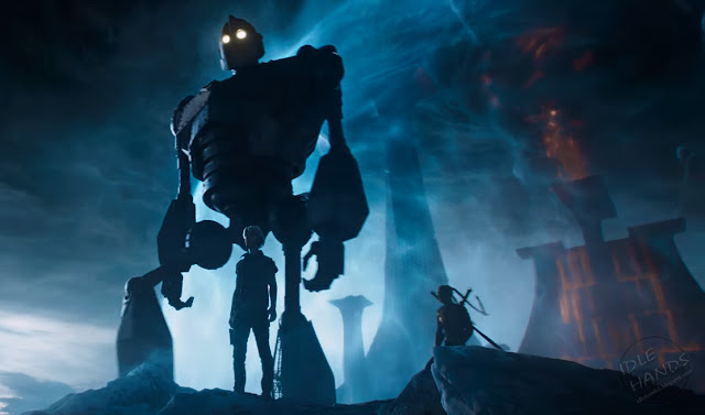 SDCC 2017 Warner Bros Ready Player One Comic-Con Trailer Cameos Iron Giant