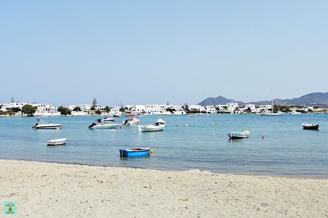 Pollonia, isla de Milos (Grecia)