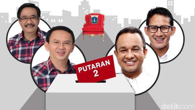 Live Streaming Debat Final Pilkada DKI Putaran Kedua; Ahok-Djarot & Anies-Sandi