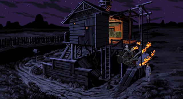 Screenshot from Full Throttle Remastered