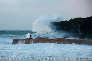 Storm Imogen Cornwall