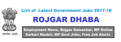 Latest Jobs Notification - Rojgar Dhaba