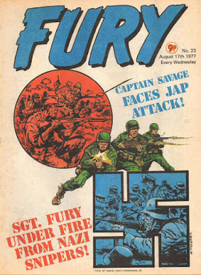 Marvel UK, Fury #23, Captain Savage