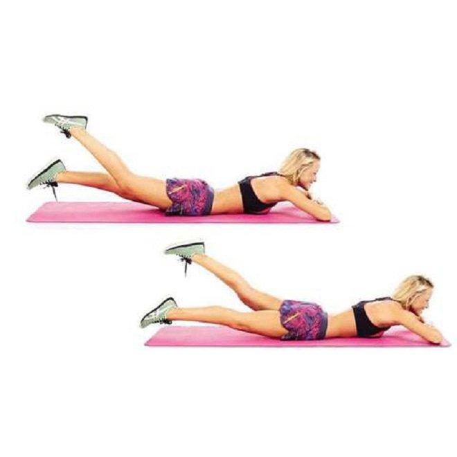 Chỉ với 15 phút mỗi ngày bạn sẽ có được body như ý muốn