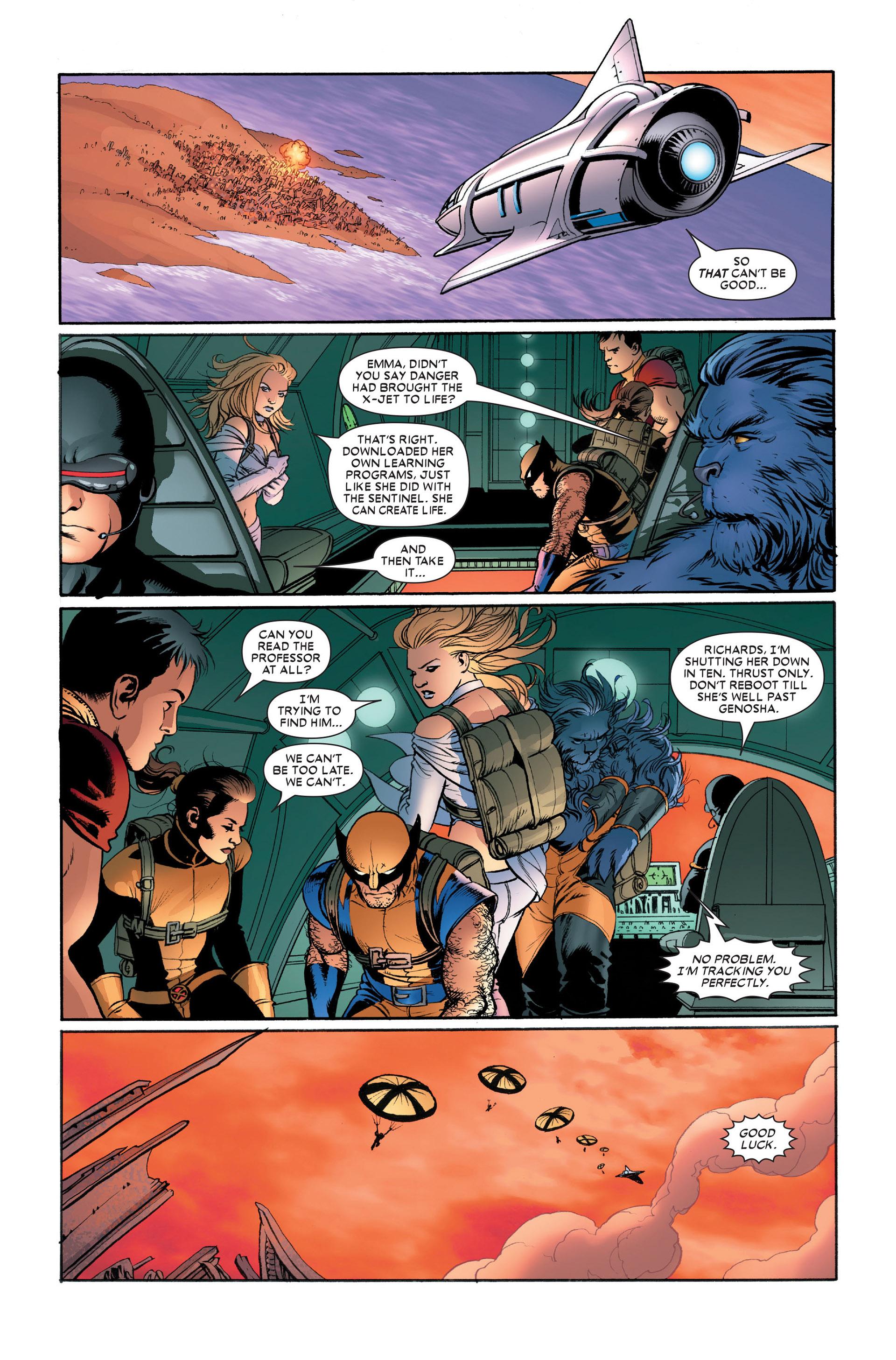 Read online Astonishing X-Men (2004) comic -  Issue #11 - 20