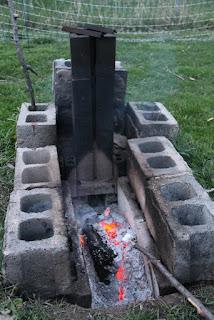 Roasting marshmallow from afar