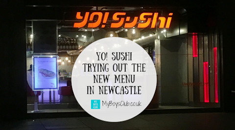 Yo! Sushi - Trying Out the New Menu in Newcastle (REVIEW)