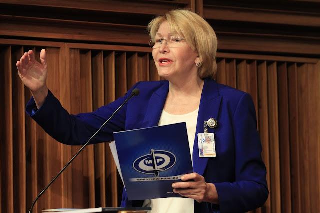 Luisa Ortega Díaz no dejó entrar a la vicefiscal designada por el TSJ a la sede del Ministerio Público
