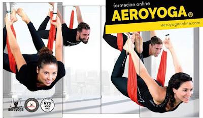 FORMACION PROFESORES YOGA AEREO AEROYOGA® ONLINE