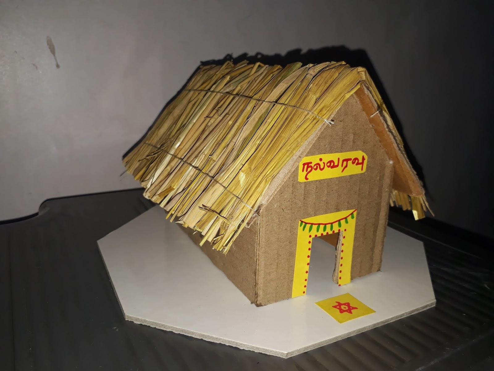 Kutcha House Model