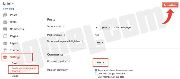 Cara Memasang Kotak Kolom Komentar Disqus di Dalam Postingan Blogspot