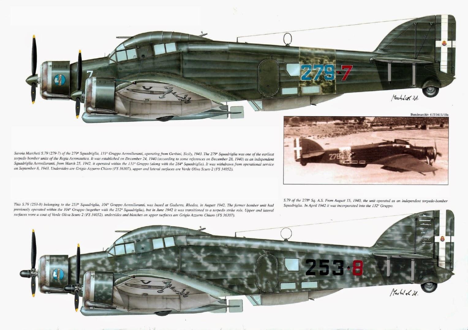 Italian Aircraft Of Wwii  Savoia