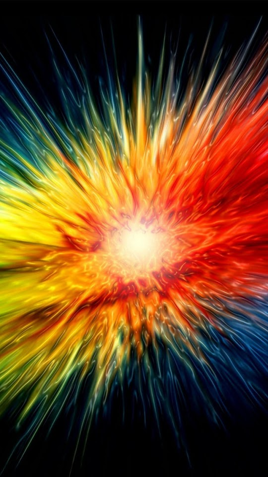 Space Explosion   Galaxy Note HD Wallpaper
