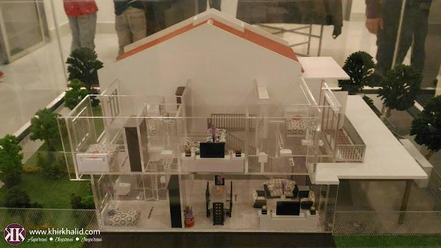 Model rumah, Taman Dataran Abadi Sepang,