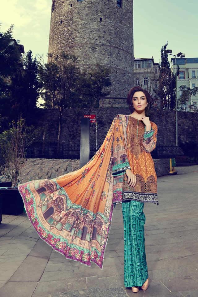 Women Dresses Women's Fashion Women's Trends Fashion, Maria B. Fashion Dresses Maria B Unstiched Linen Collection for Women