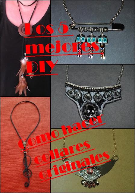 DIY 5 Collares muy originales