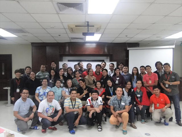 Leadership training in Cebu