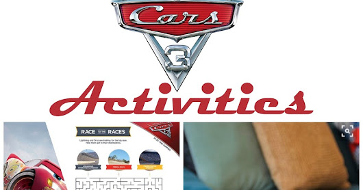 Cars 3 Activities