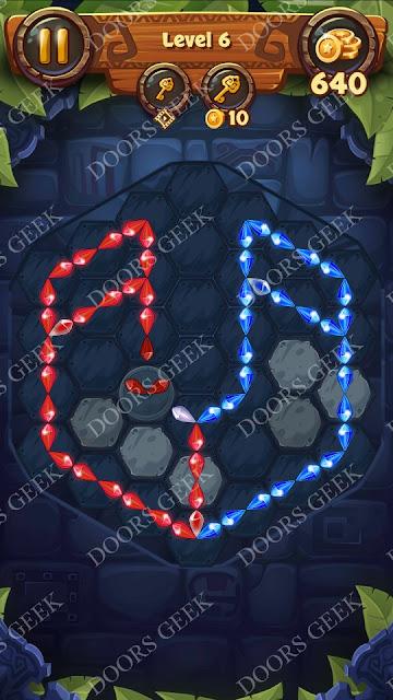 Gems & Magic [Tourmaline] Level 6 Solution, Walkthrough, Cheats