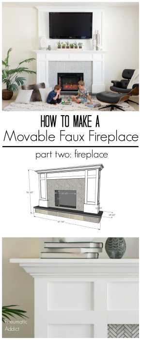 how to build an electric fireplace surround overmantle white shaker