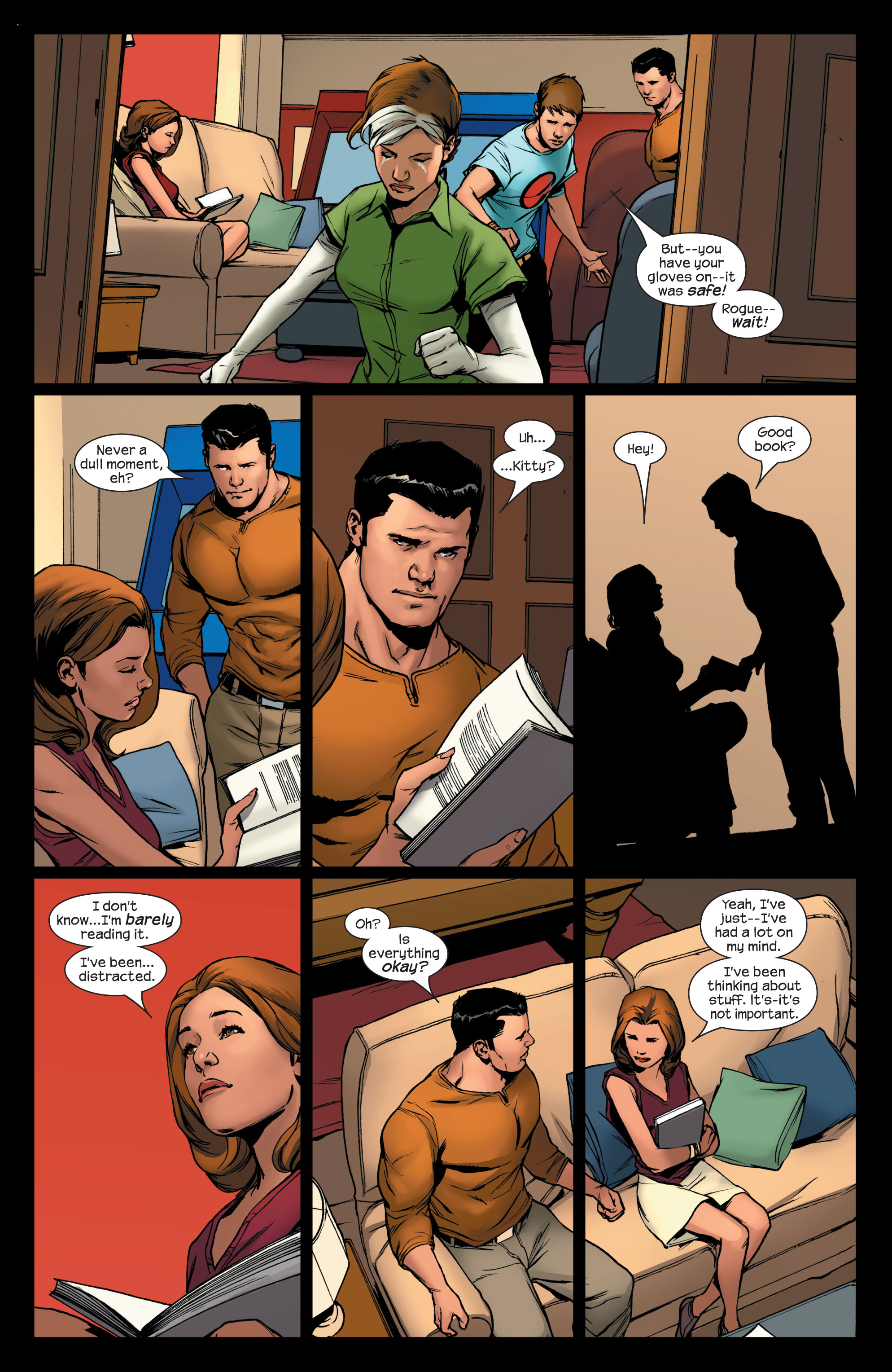Read online Ultimate X-Men comic -  Issue #75 - 8