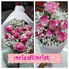 Hand Bouquet Mawar Import dan Baby Breath