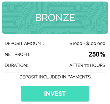 Инвестиционные планы Bitsmaker 3