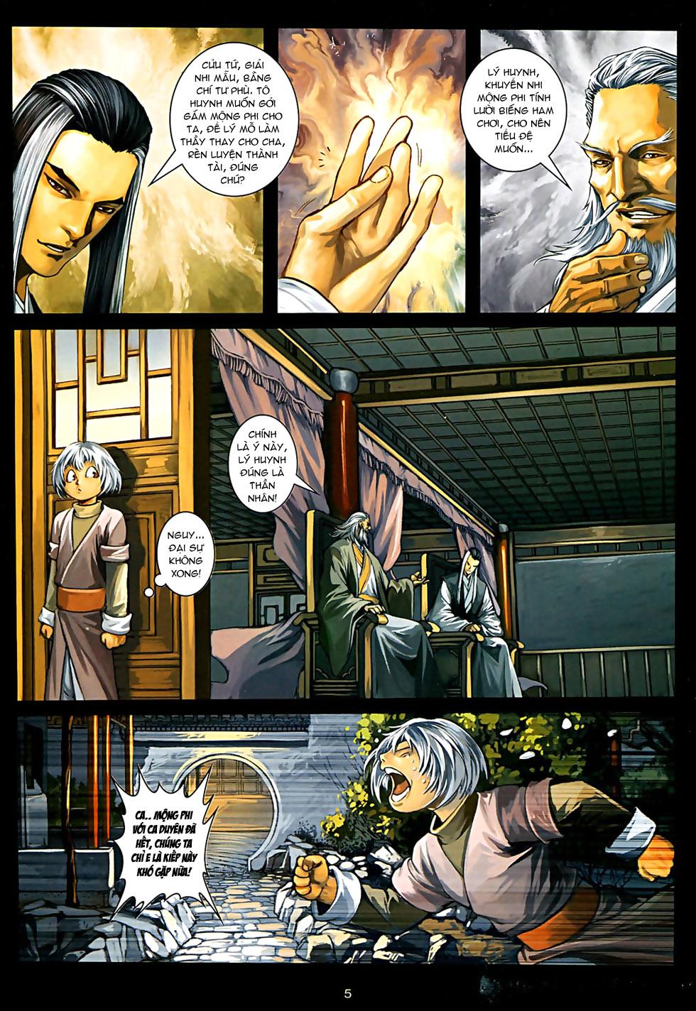 Ôn Thuỵ An Quần Hiệp Truyện Phần 2 chapter 32 trang 6