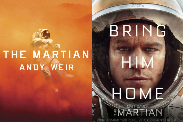 Book Vs Movie The Martian Review