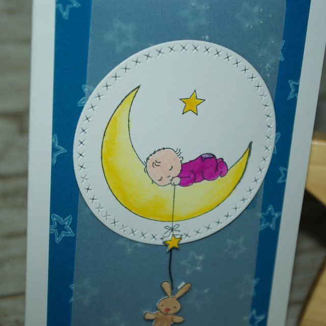 [DIY] Welcome Moon Baby!  Willkommen, Mond-Kind (Stampin Up!)