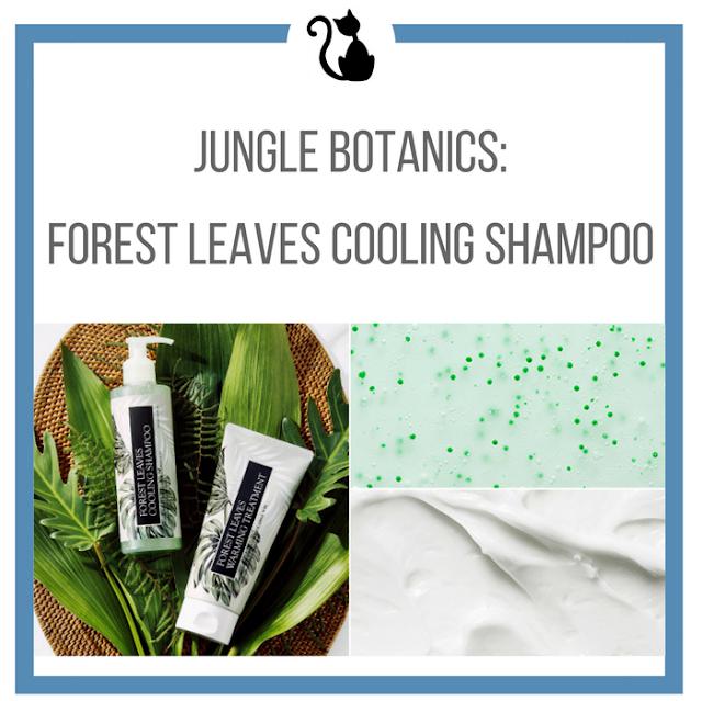 Chłodzący szampon od Jungle Botanics