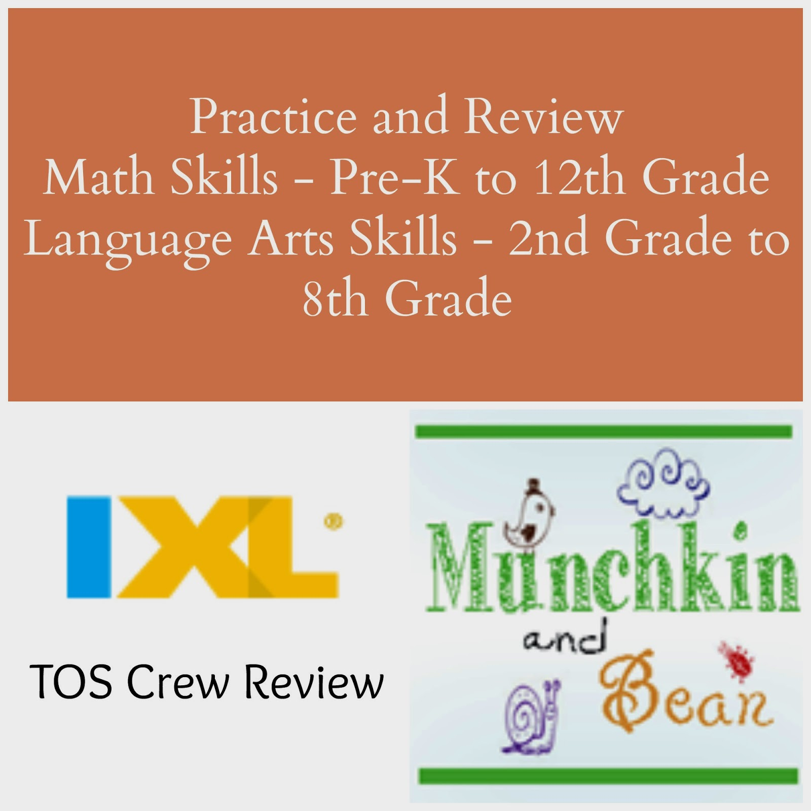 Munchkin and Bean: IXL Review