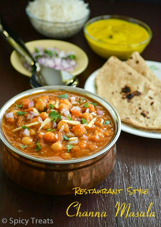 Restaurant Style Channa Masala Recipe