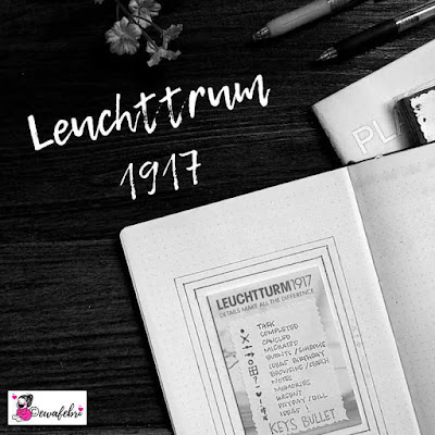 Contoh Key Bullet Journal pada Leuchttrum 1917