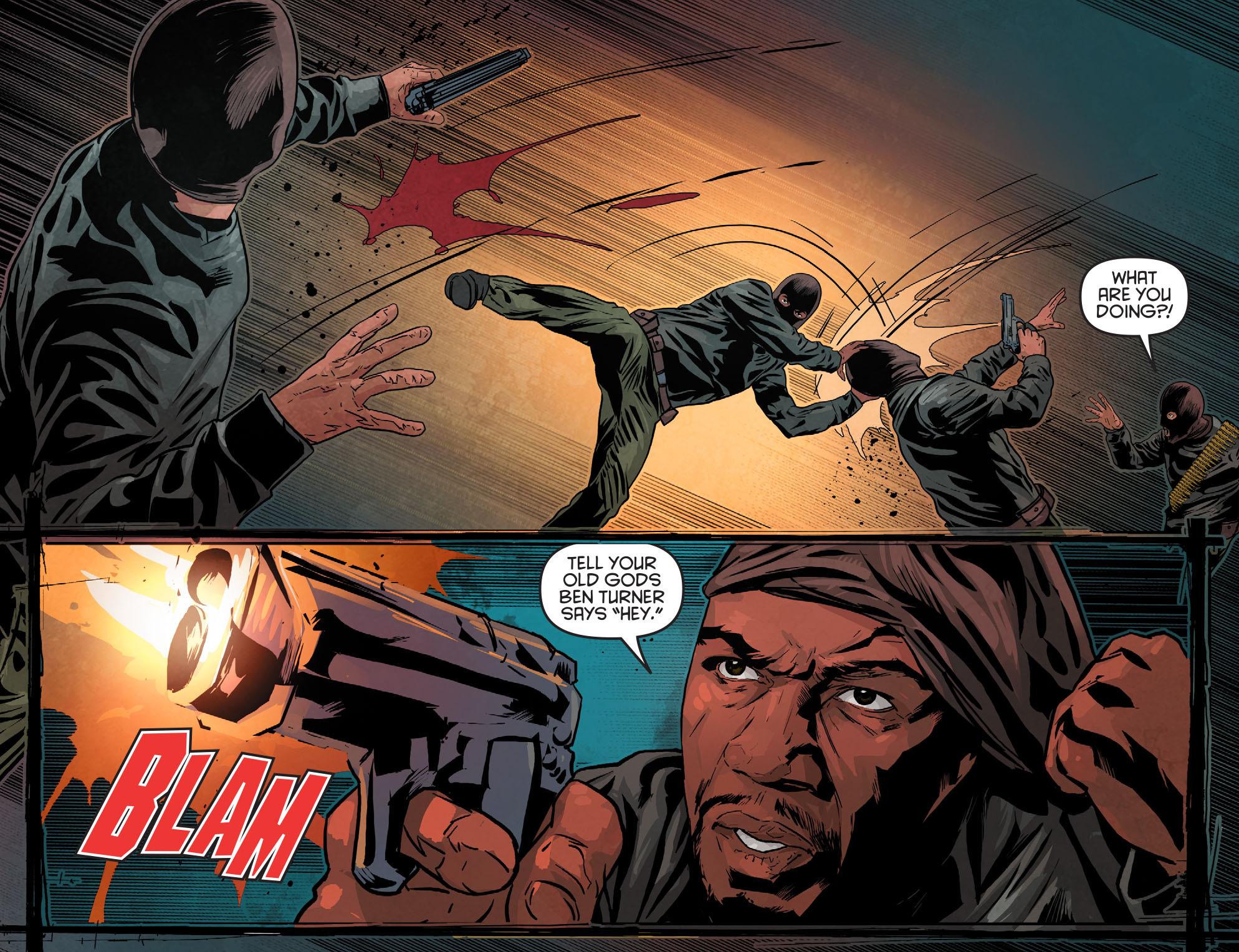Read online Arrow: Season 2.5 [I] comic -  Issue #11 - 17