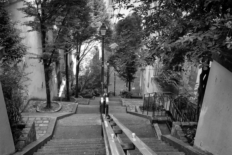 Paris fvdv: montmartre gezien door een gek