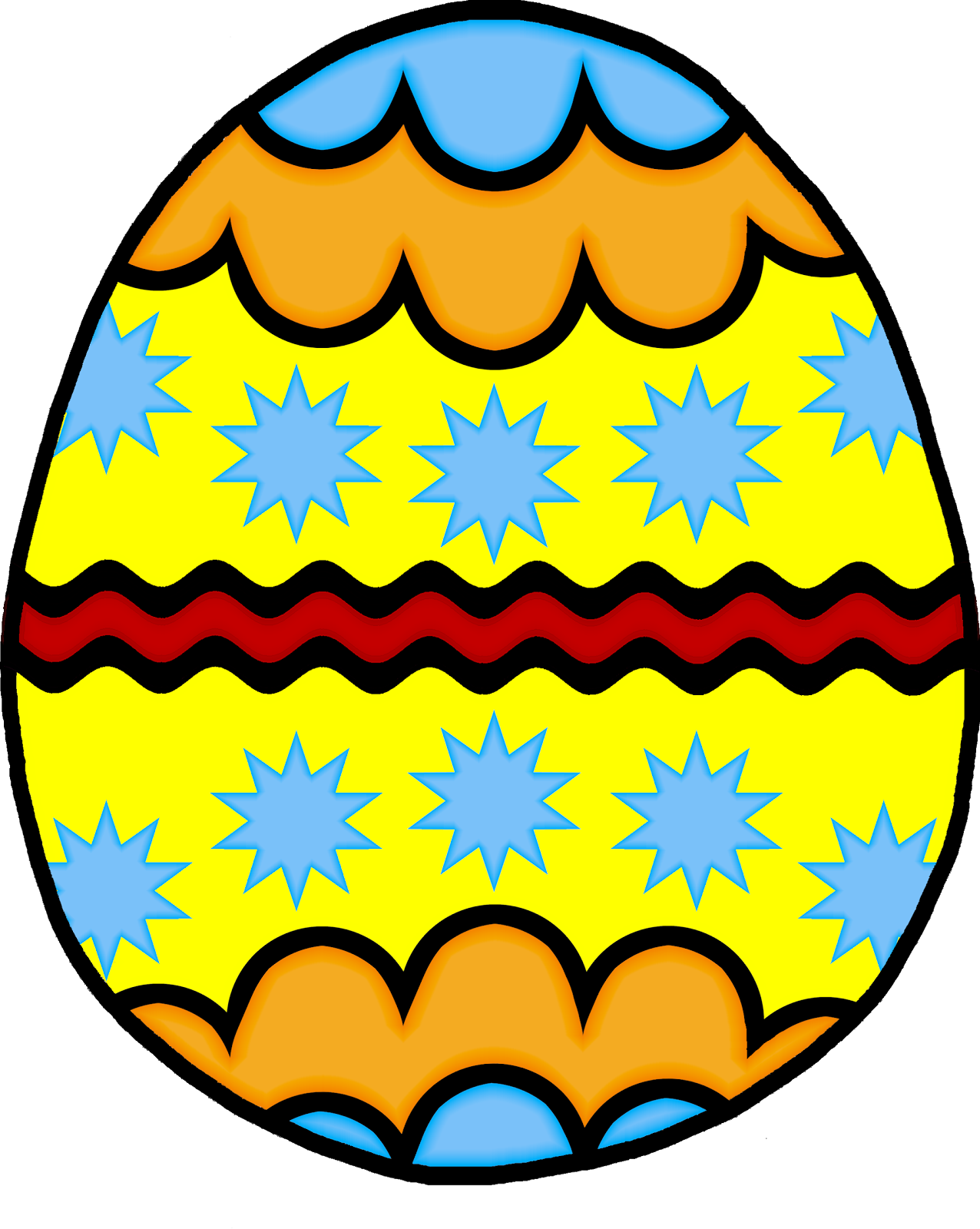 free clipart of easter eggs - photo #26