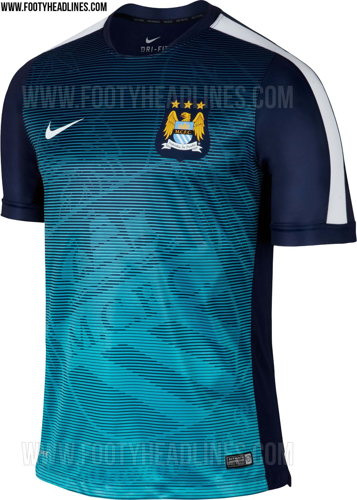 a9f1dc616b6 Discount Manchester City 2015 Training and Pre-Match Kits Revealed