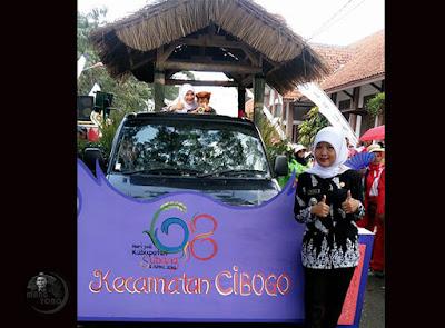 Pawai Alegoris Kec. Cibogo Meriahkan HUT Kabupaten Subang ke-68, Tahun 2016. Foto dapet nyomot dari akun medsosnya bu  Chi-chi Thea, Camat Cibogo.