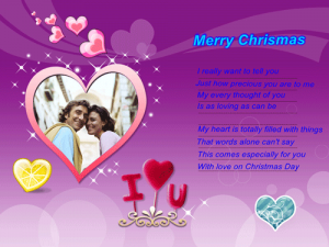 Romantic Xmas Wishes And Pictures For Girlfriend Wife Or Lover Gf