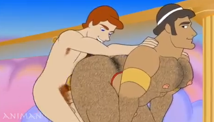 Animated Gif About Boys Gay Kiss In Gays By Aladdin