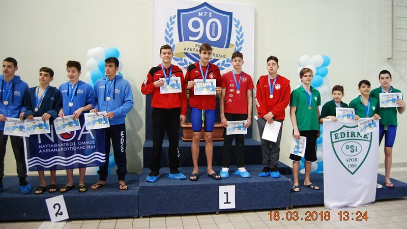 Μεγάλες εμφανίσεις των κολυμβητών του ΟΦΘΑ σε Αλεξανδρούπολη και Ιωάννινα