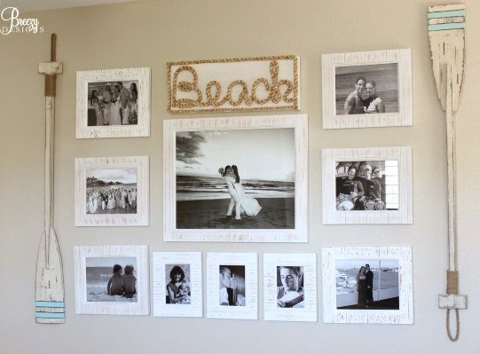 Beach Pictures Gallery Wall